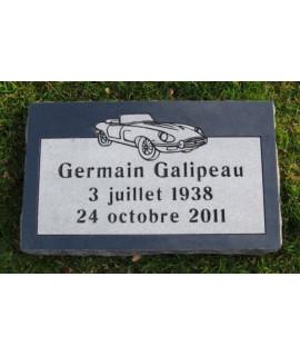 Plaque Funéraire en Granit #026